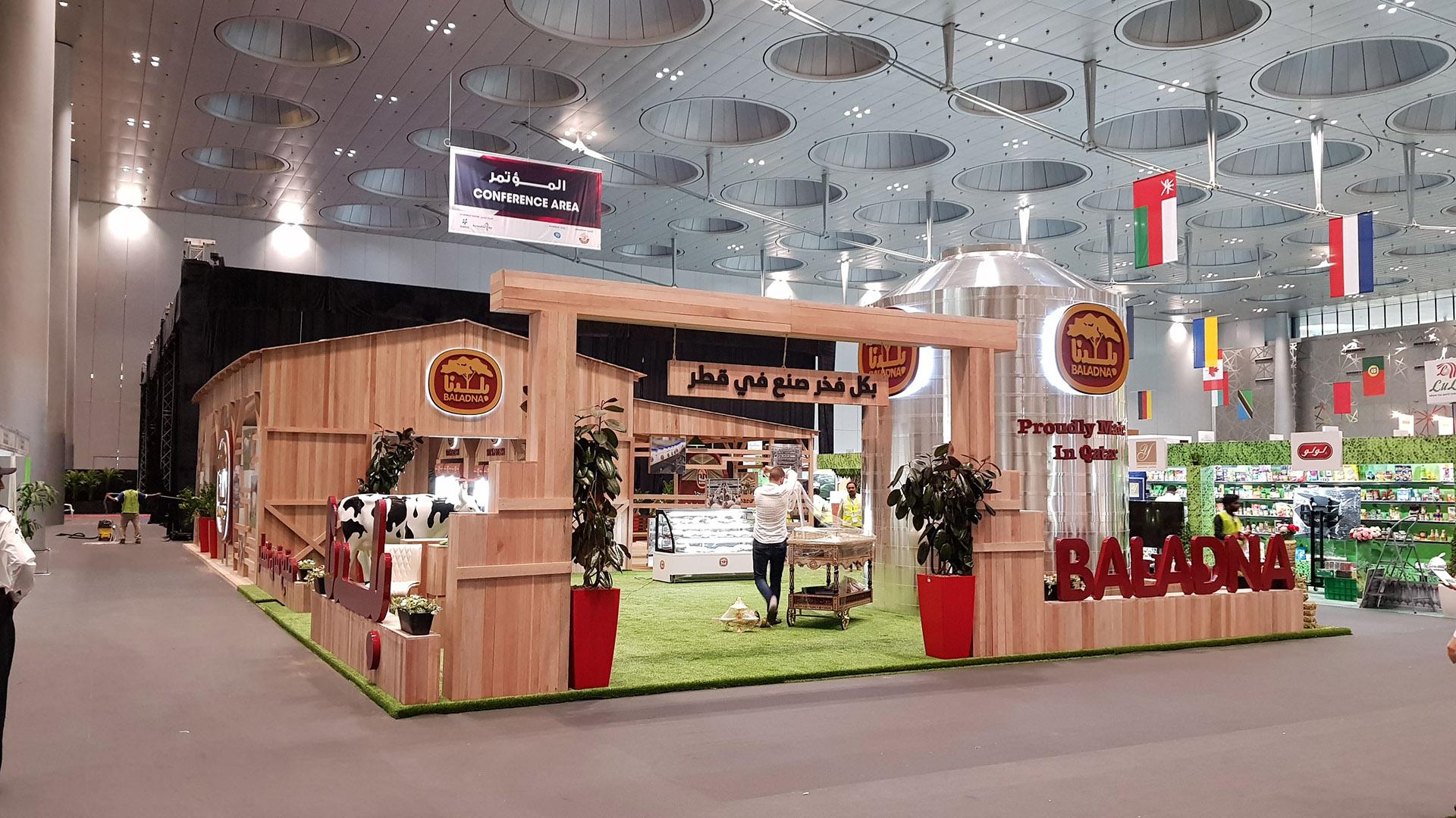 Baladna Exhibition Stand Agriteq 2018 Qatar