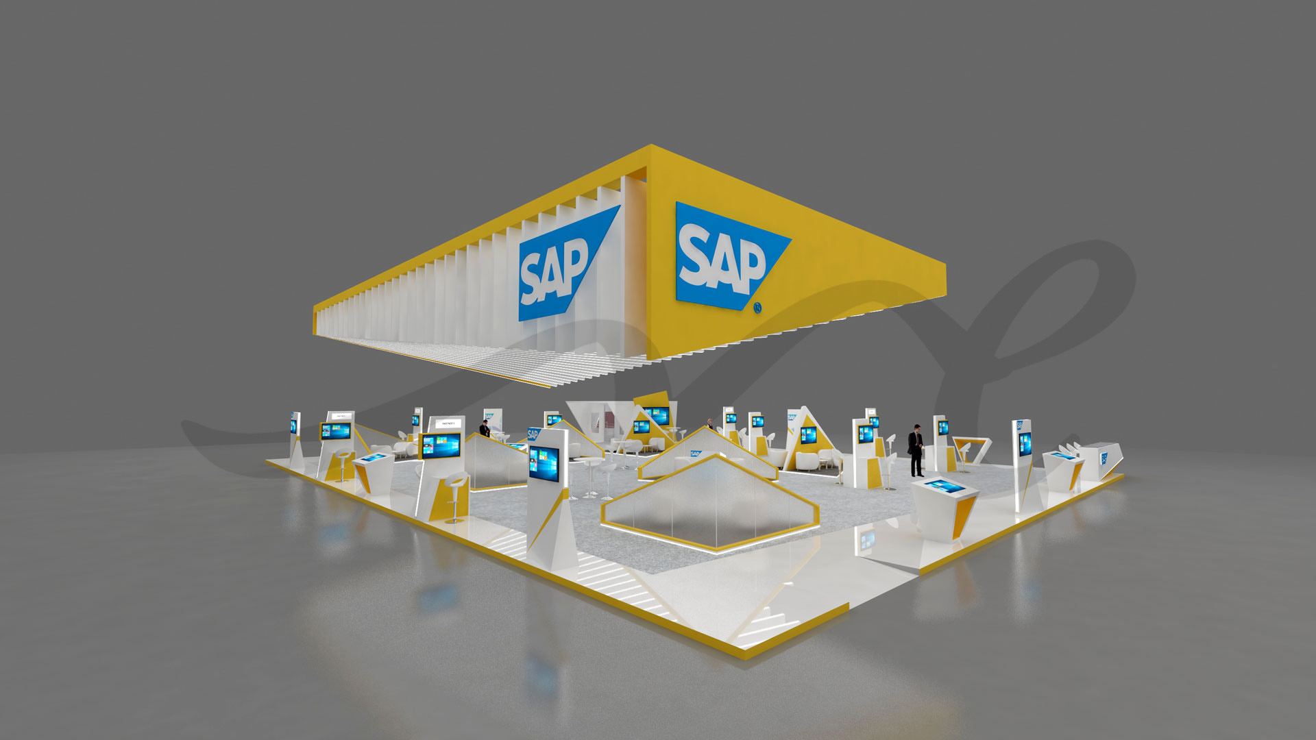 SAP Stand Design by ME Visual