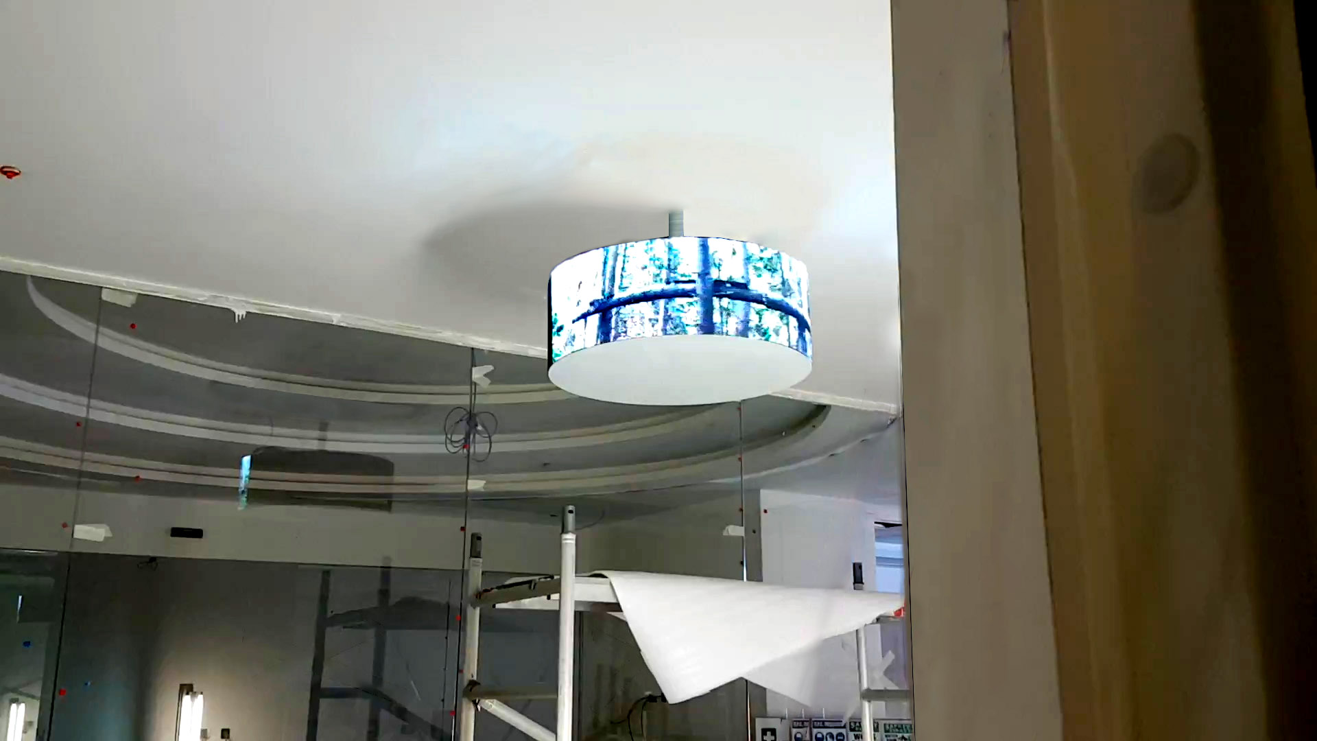 Curved LED Digital Signage for Huawei by ME Visual