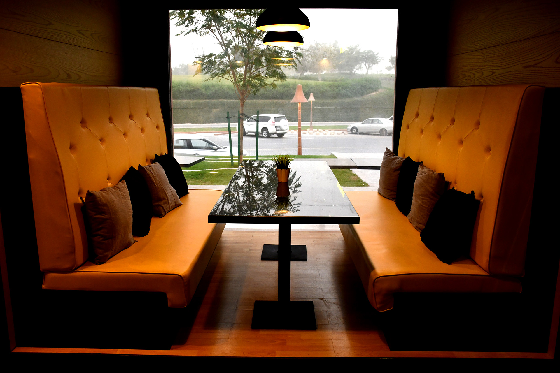 Interior Fit-Out for U Burger in Katara by ME Visual, Qatar